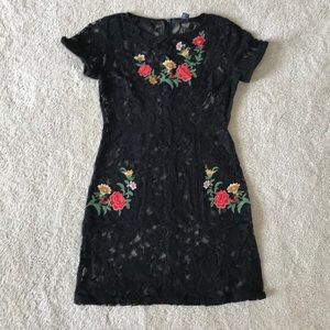 Amazing Forever 21 dress with Embroidery